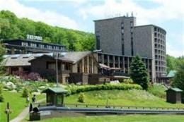 Main Lodge in Spring