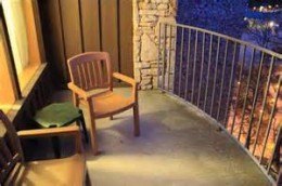 Balcony in Main Lodge