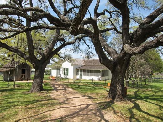 Johnson's Boyhood Home