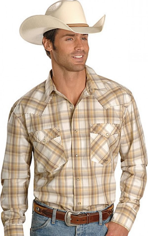 He didn't look anything like this. Except the cowboy hat.