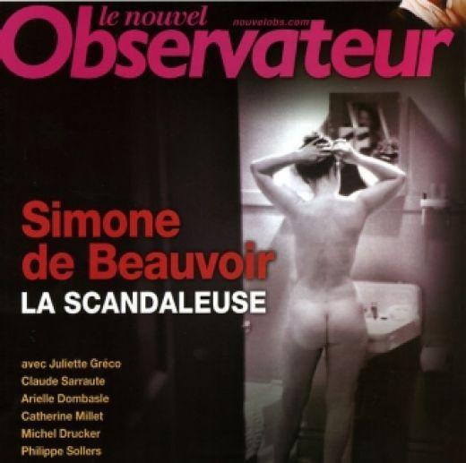 Simone de Beauvoir in Nelson Algren's Apartment in Chicago