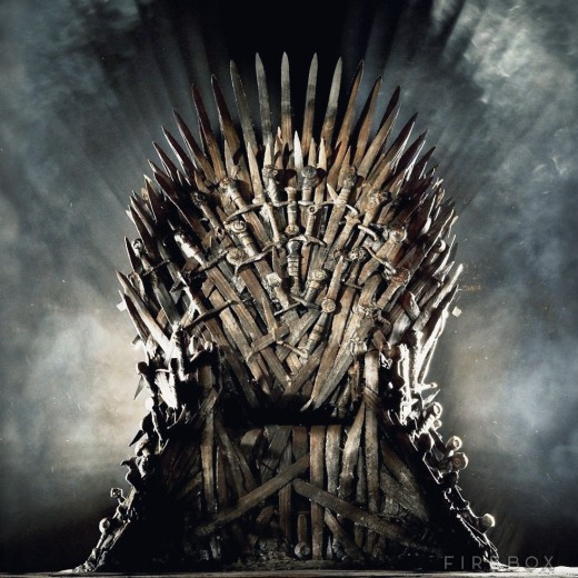 Game of Thrones Life Size Replica Iron Throne for $30,000
