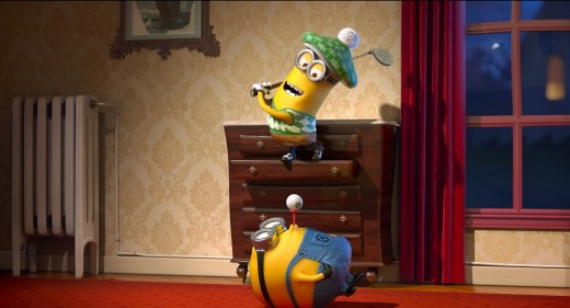 You'd be forgiven for thinking the ubiquitous yellow Minions were the only things in the film...