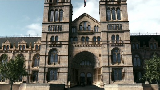 Penny Dreadful location: Natural History Museum (screenshot)
