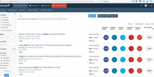 Buzzsumo will give you the needed post idea!!