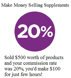 Making Money from Home Selling Supplements