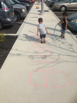 How to Play Ninja Hopscotch