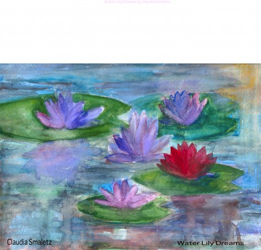 Water lilies are the architects of the plant world.