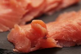 fresh Pacific salmon
