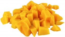 fresh diced mango
