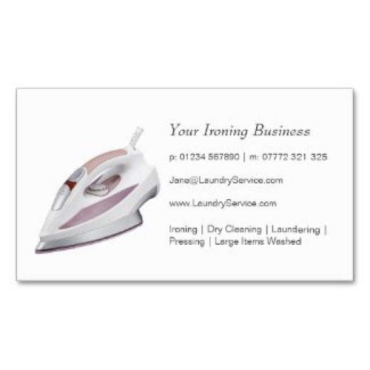 Ironing Business Cards
