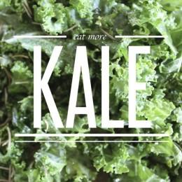 Eat more kale!