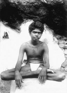 Ramana Maharshi - aged 21