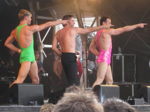 Previous entertainment during Gay Pride London
