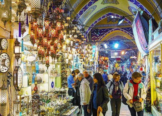 The Grand Bazaar. Istanbul, Turkey.