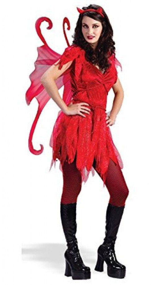 Red devil fairy costume for Halloween