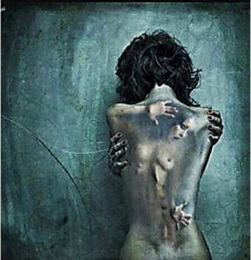 Artwork representing pain