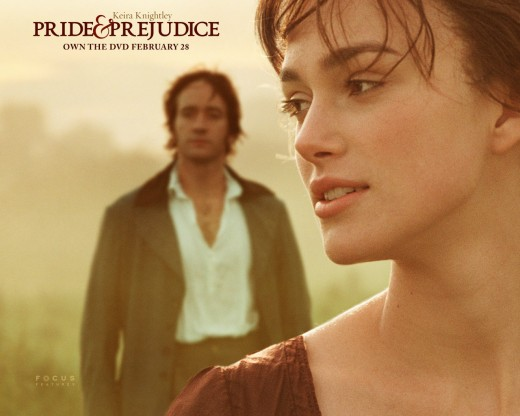 Pride and Prejudice: A classic which is personally my favourite. Mr. Darcy though a hard catch, is caught by Lizzie a light hearted, deep thinking, and selfless sister of four. Underestimated and most times overlooked.