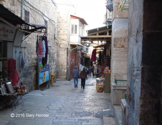 Jerusalem Shopping Street
