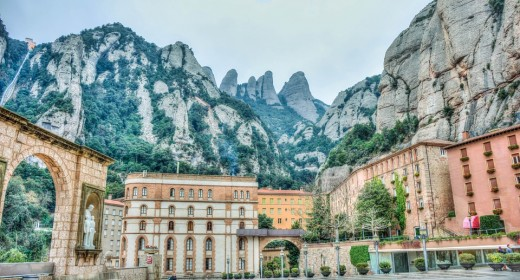 Montserrat Mountains, Catalonia.