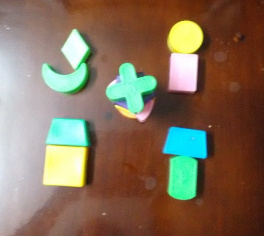 examples of things which can be made out of shapes