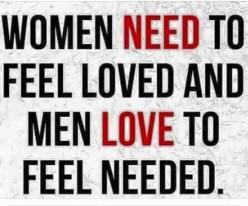 Love Me, Because I Need You!