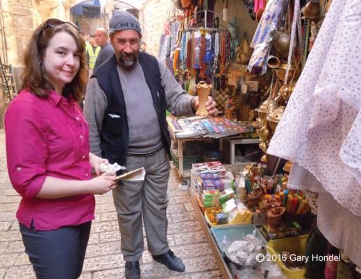 Sara Buying Frankincense
