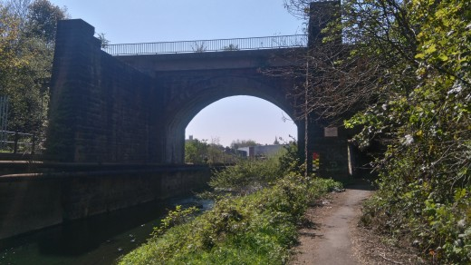 Image of Skerne Bridge looking from its North Side.