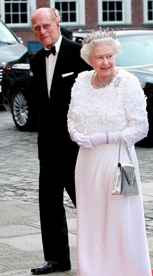 Queen and Duke of Edinburgh.