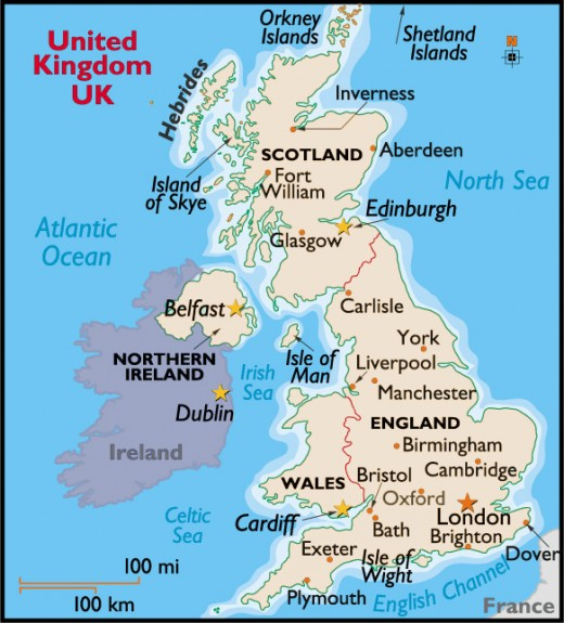 The UK:  More divided then ever between the haves and have nots.