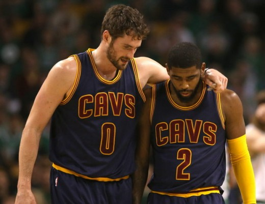 Could you imagine how hurt LeBron James would be if a rematch between Cleveland and Golden State happens and Kevin Love and Kyrie Irving are both hurt again? That would be  some funny/sad shit.