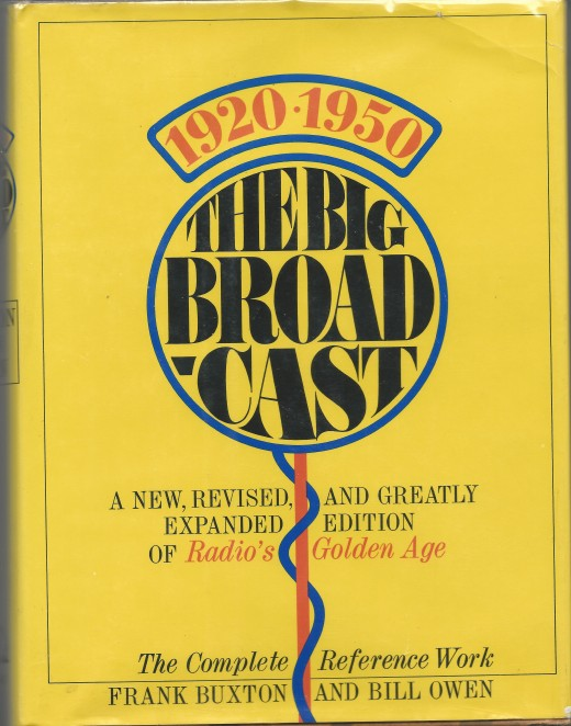 The Big Broadcast 1920-1950, by Buxton & Owen