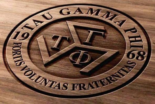 The Tau Gamma Phi Fraternity Logo