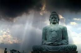 A statue of Buddha.