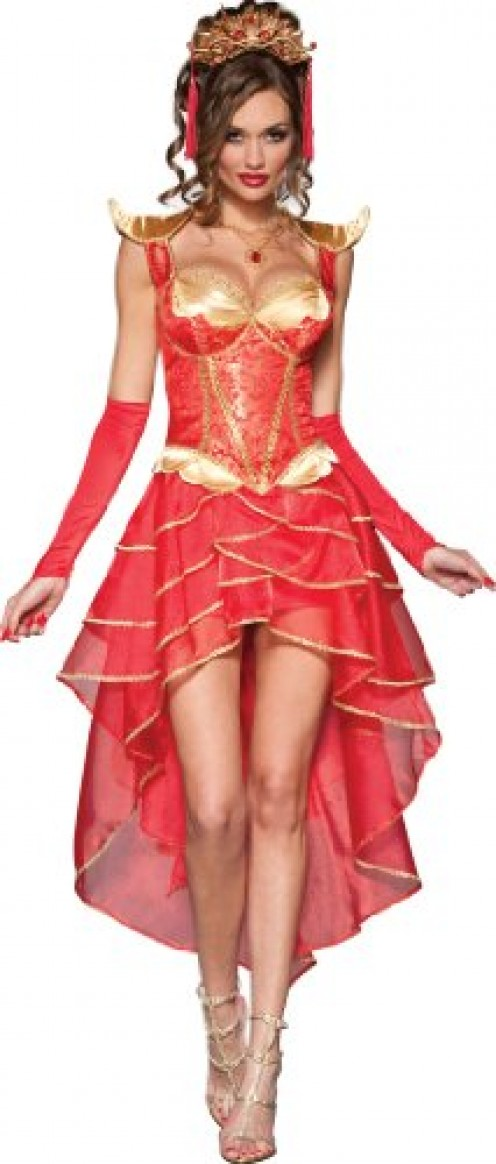 Look elegantly dangerous with this Halloween costume