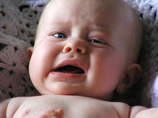 Crying is a natural part of baby development.