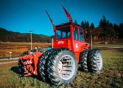 Commercial tractors serve our society in various ways