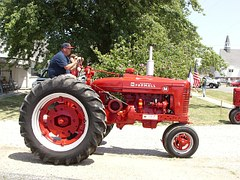 This farmer is glad to head to his fields with a tractor like this
