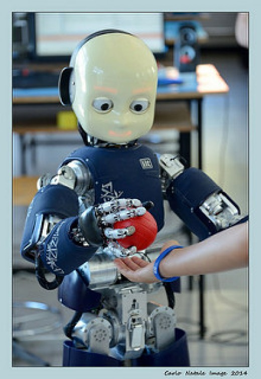 Robots that can learn on there own is a dangerous thing unless completely monitored. Do not get out smarted by computer technology.