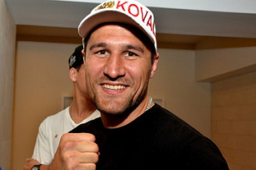 Mr. Kovalev is one tough fighter. He can win bouts by boxing or brawling at close quarters.