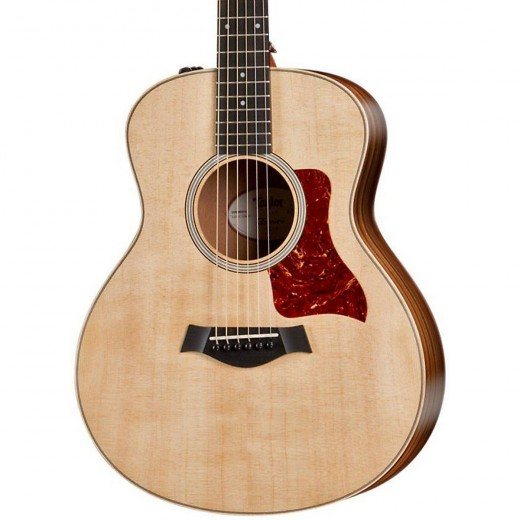 The Taylor GS Mini is one of the best mini acoustic guitars out there, whether you choose the mahogany top or spruce.