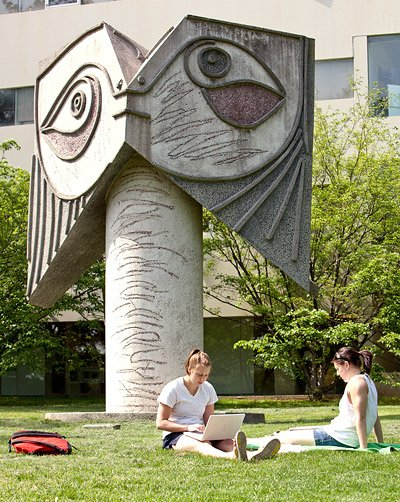 Picasso sculpture at Princeton