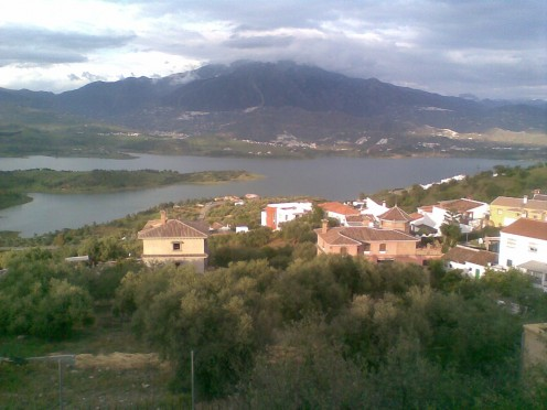 La Vinuela  in Andalucia, Southern  Spain