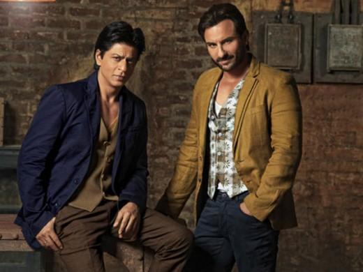 Shahrukh Khan and Saif Ali Khan
