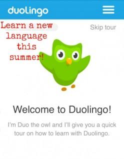 Learning a Language on Duolingo.com