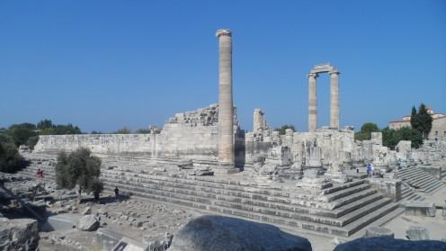 The temple of Apollo in Altinkum, Turkey