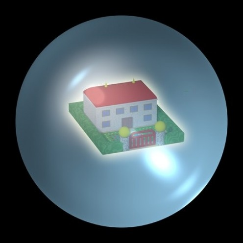The housing bubble is a very delicate thing