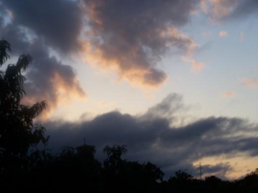 Each morning sunup... evening sundown...