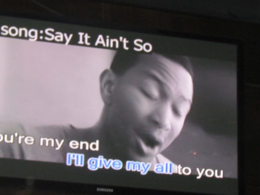 Songs were performed by John Legend.