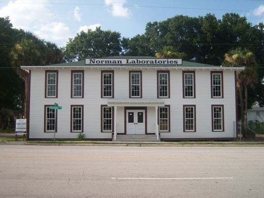 Current museum on Arlington Highway in Jacksonville,